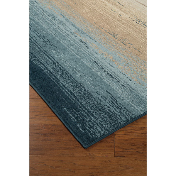 Picture of IGNACIO BLUE/TAN 5X7'6 RUG