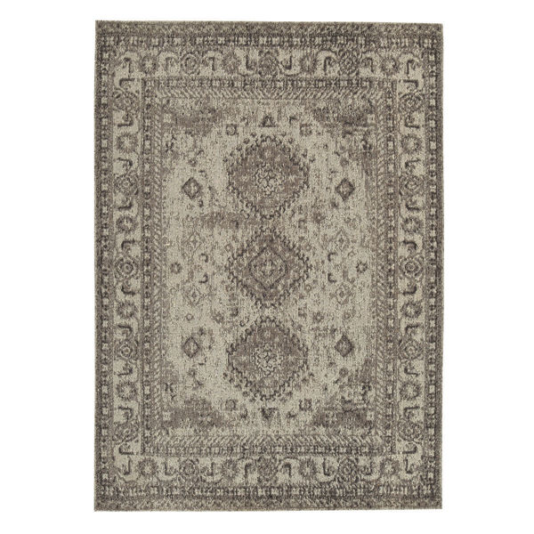 Picture of LAYCIE GRAY/TAUPE 5X7 RUG