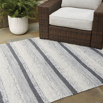 Picture of DERYA GRAY OUTDOOR 5X7 RUG