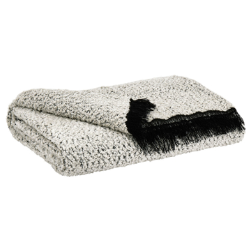 Picture of LEONITA BLACK & WHITE THROW