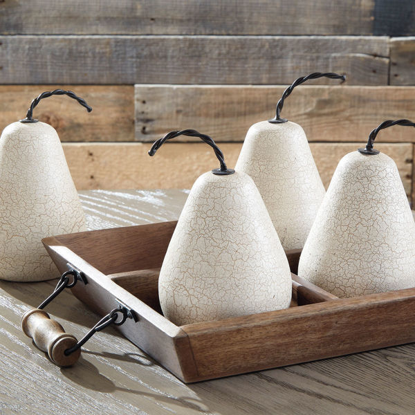 Picture of BRENDY 5PC PEAR TRAY SET