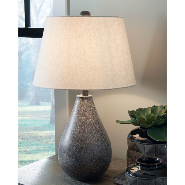 Picture of BATEMAN METAL TABLE LAMP PAIR