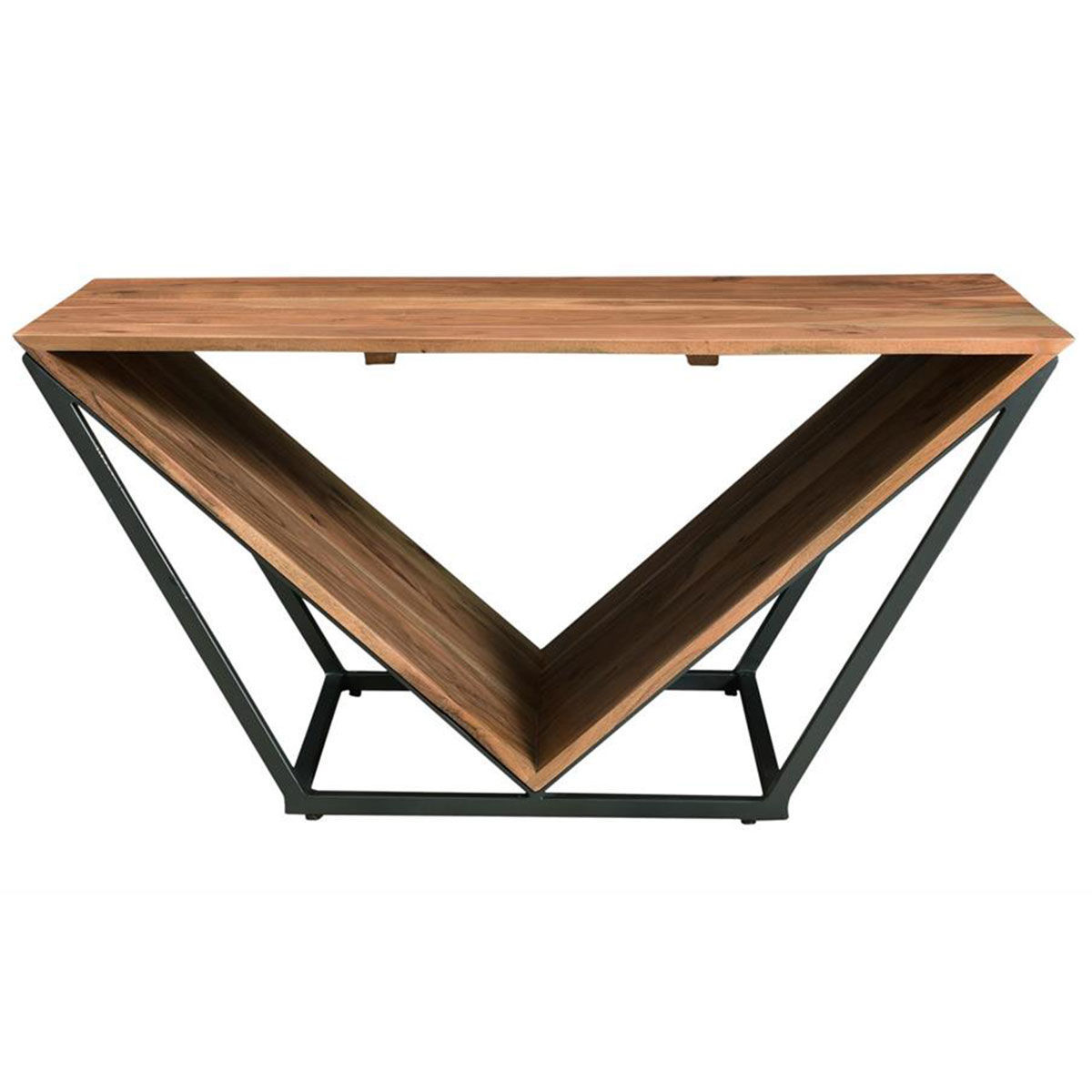 Picture of WOOD TRIANGLE COCKTAIL TABLE