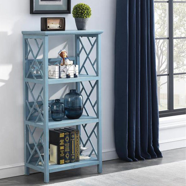 Picture of BLUE BOOKCASE