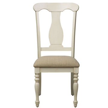 Picture of Sanibel Upholstered Slat Back Side Chair