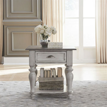 Picture of MARTHA WHITE END TABLE
