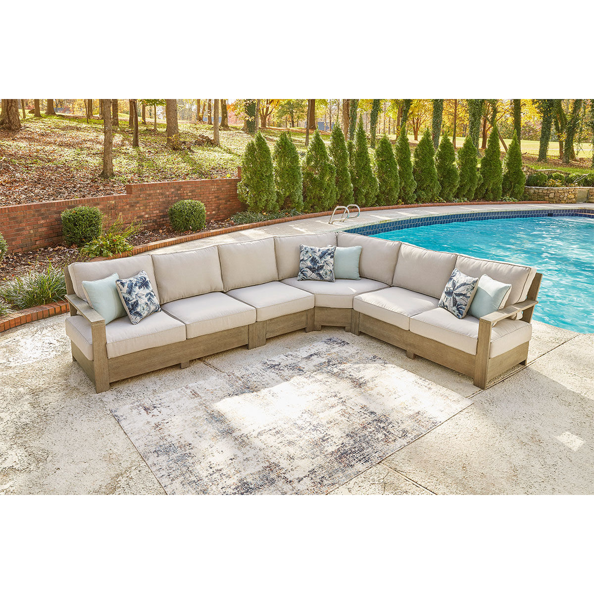Picture of PANAMA 4PC PATIO SECTIONAL KIT