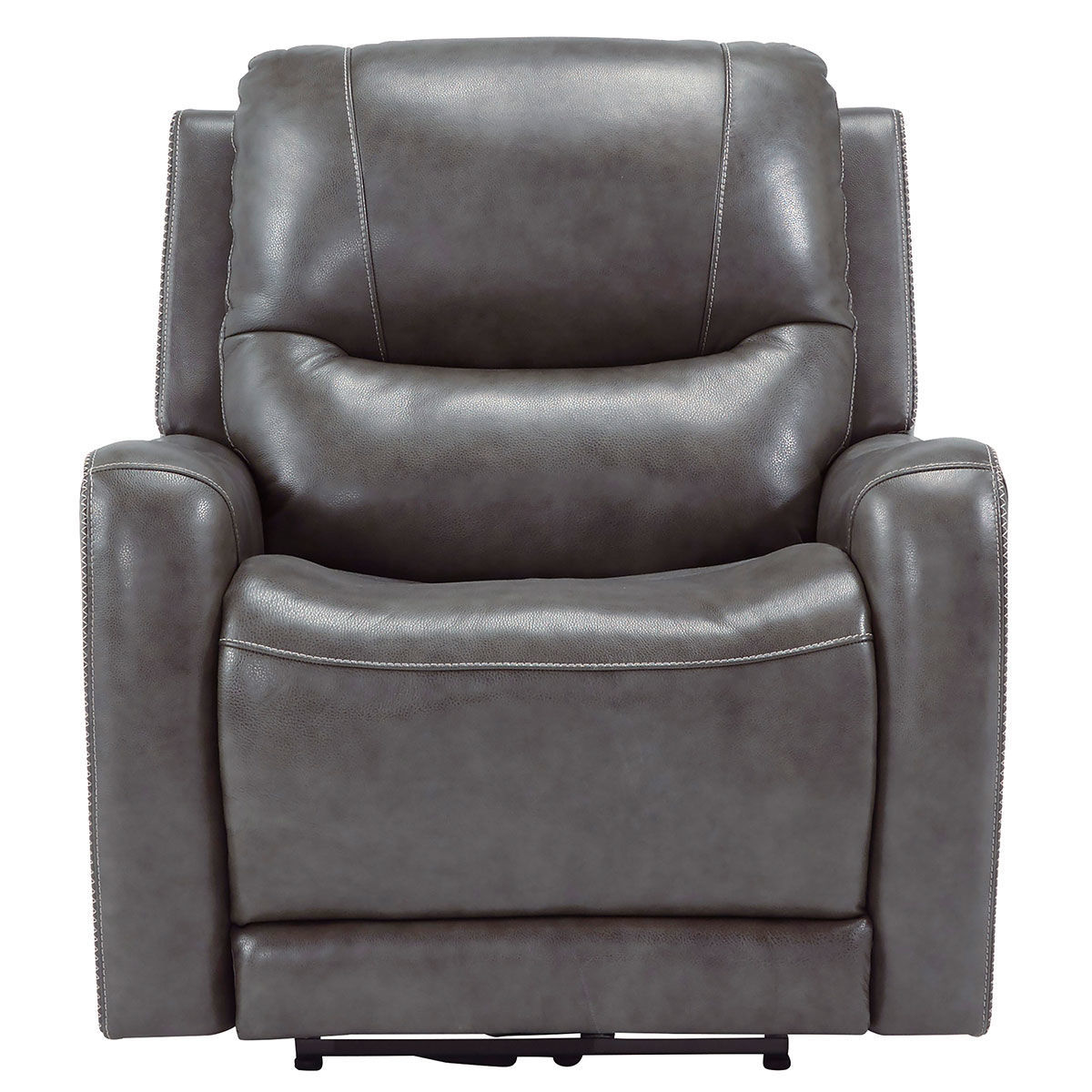 Picture of GRAND GREY WALL RECLINER W/ POWER HEADREST & MASSAGE