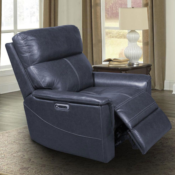 Picture of MARSHALL INDIGO POWER RECLINER