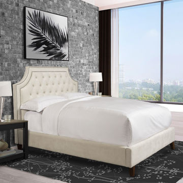 Picture of JASMINE UPHOLSTERED BED