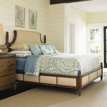 Picture of ORCHID BAY UPHOLSTERED BED