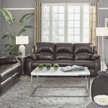 Picture of BRADINGTON LEATHER LIVING ROOM