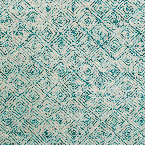 """Picture of ZOE 1 TEAL 5'X7'6"""" AREA RUG"""