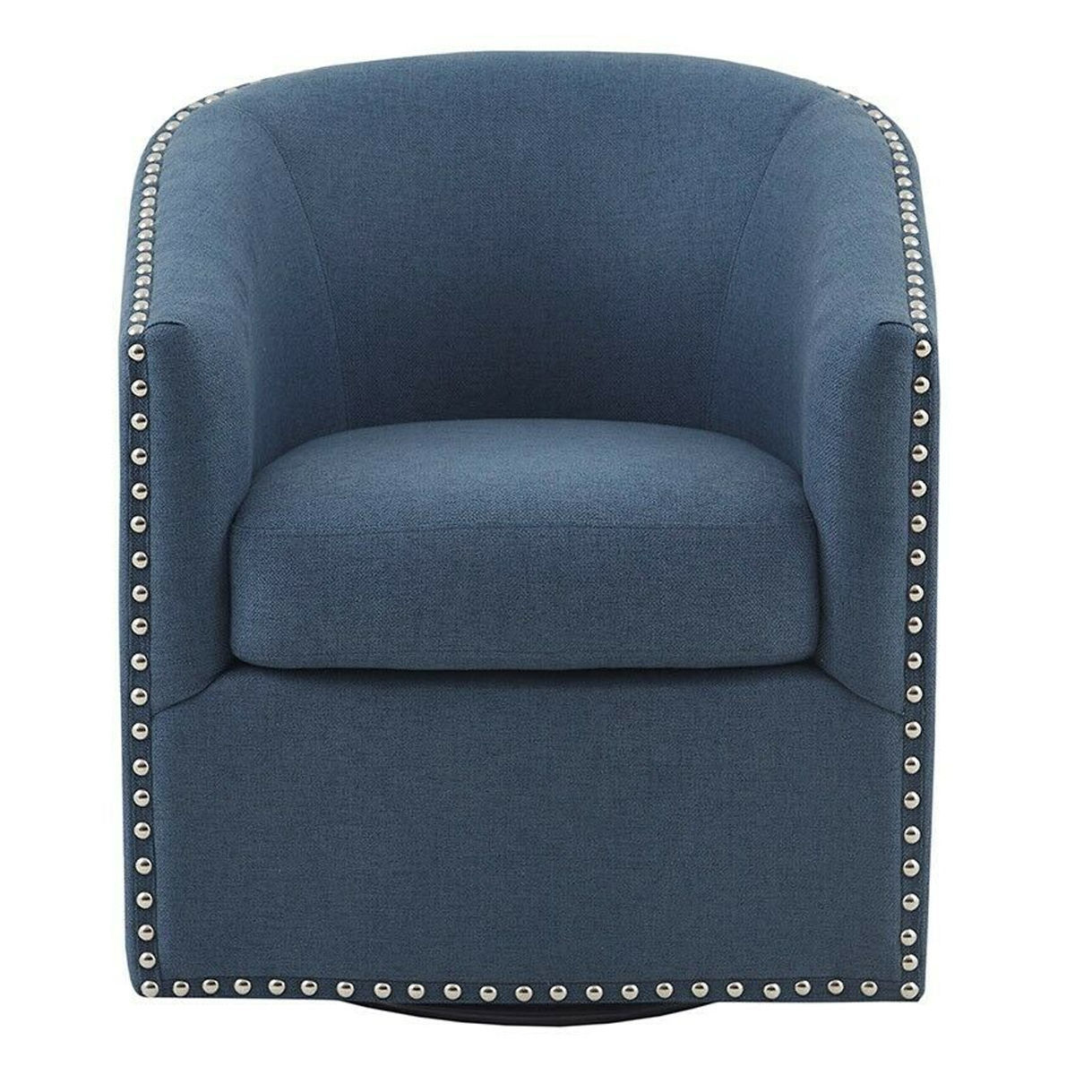 Picture of TYLER BLUE SWIVEL CHAIR