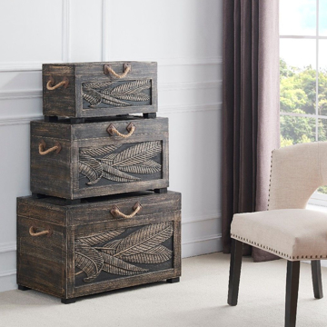 Picture of 3 PC NESTING TRUNKS