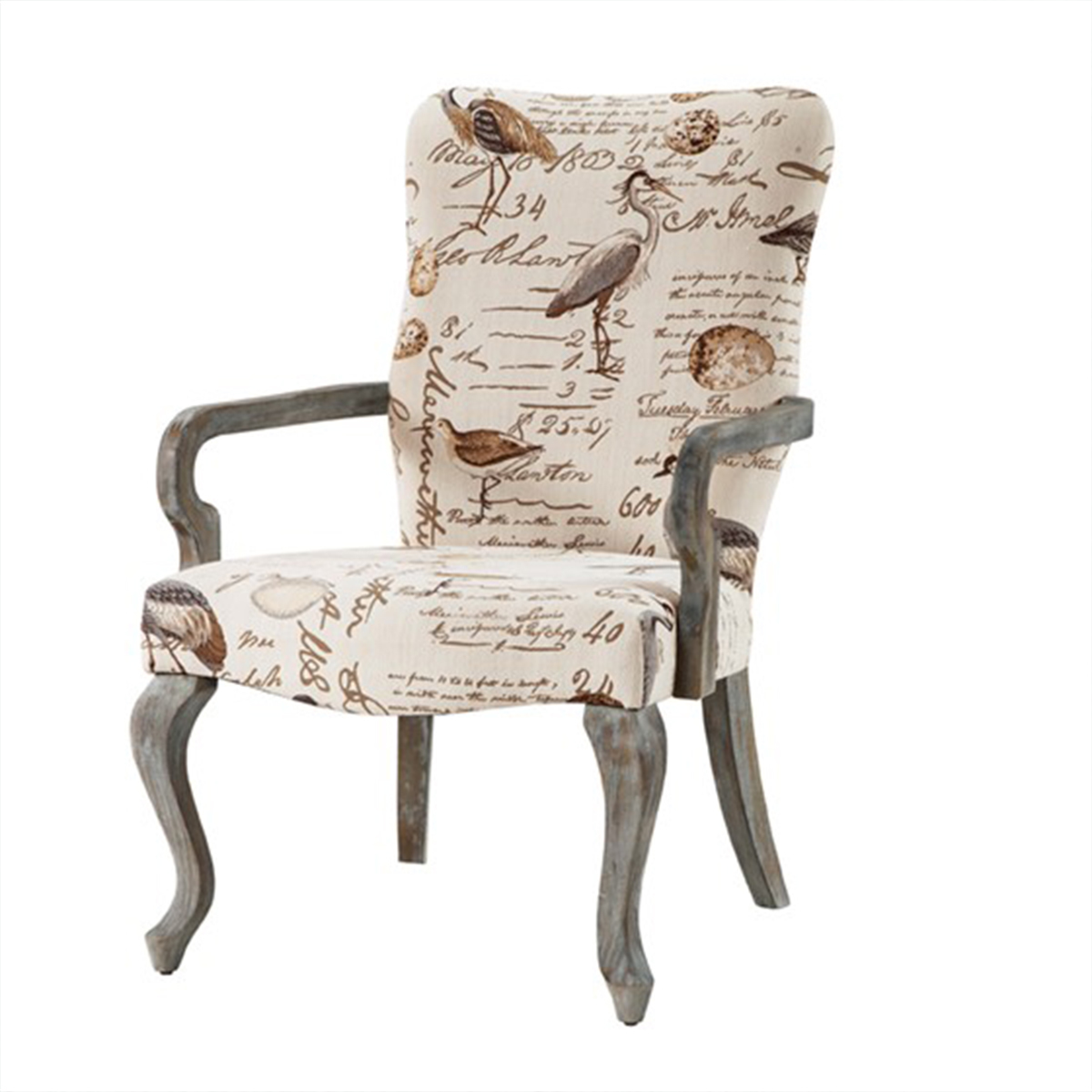 Picture of GOOSE NECK ARM CHAIR