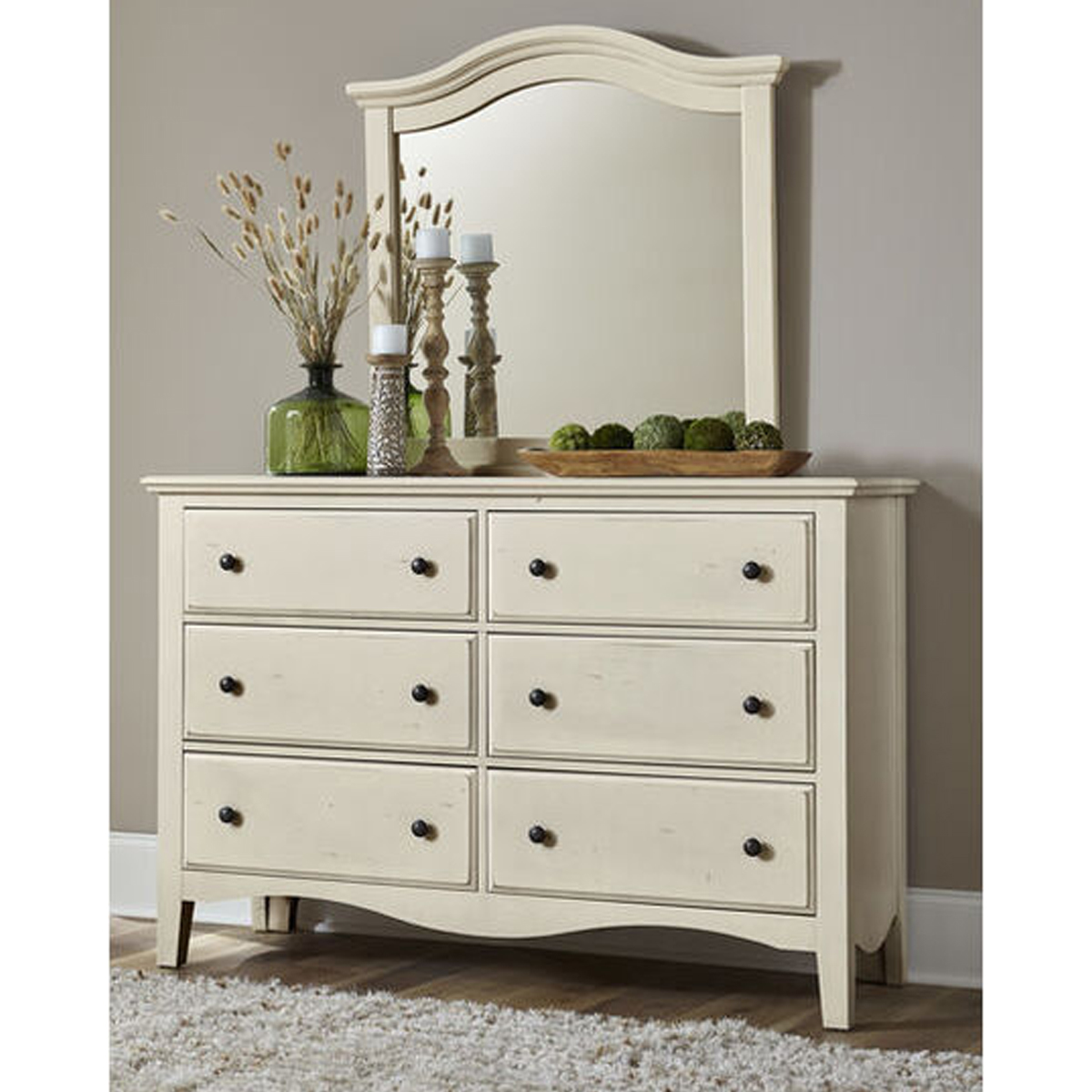 Picture of CASHIERS SHELL 6 DRW DRESSER