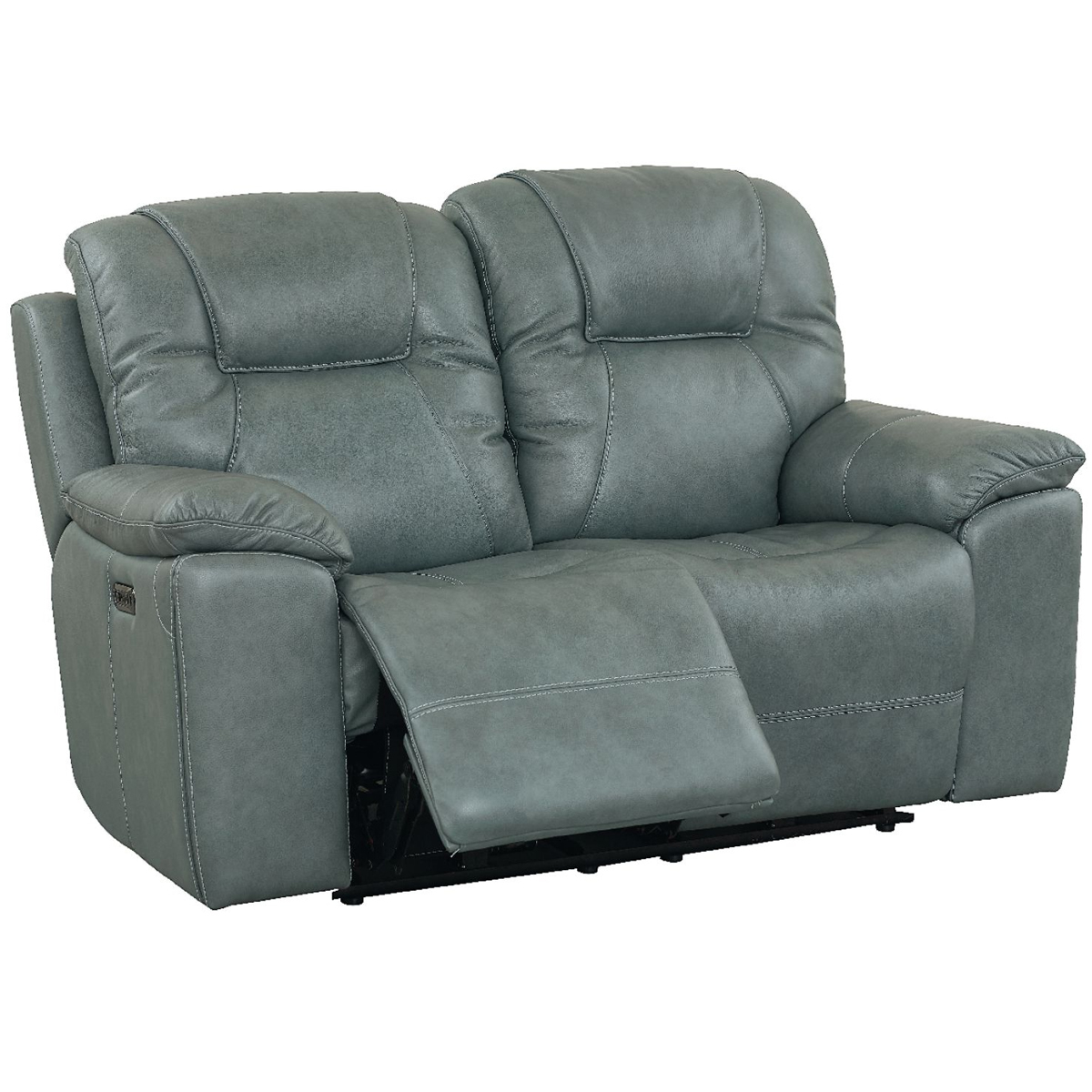 Picture of CHANDLER BLUE LOVESEAT W/PHR