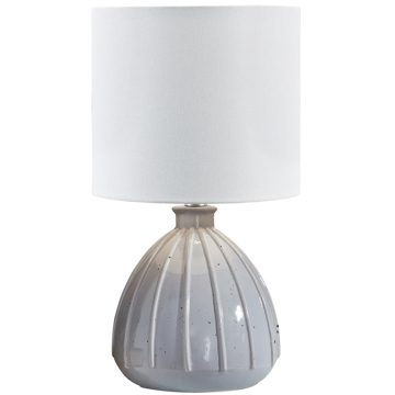 Picture of GRANTNER GREY TABLE LAMP