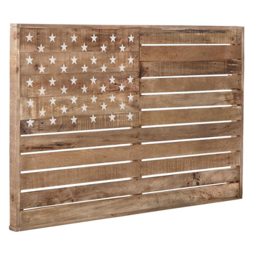 Picture of JONWAY WOOD FLAG WALL ART