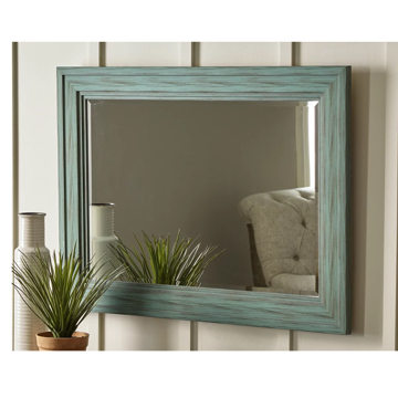 Picture of JACEE TEAL WALL MIRROR