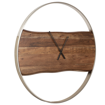Picture of PANCHALI LIVE EDGE WALL CLOCK