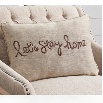 Picture of LETS STAY HOME PILLOW