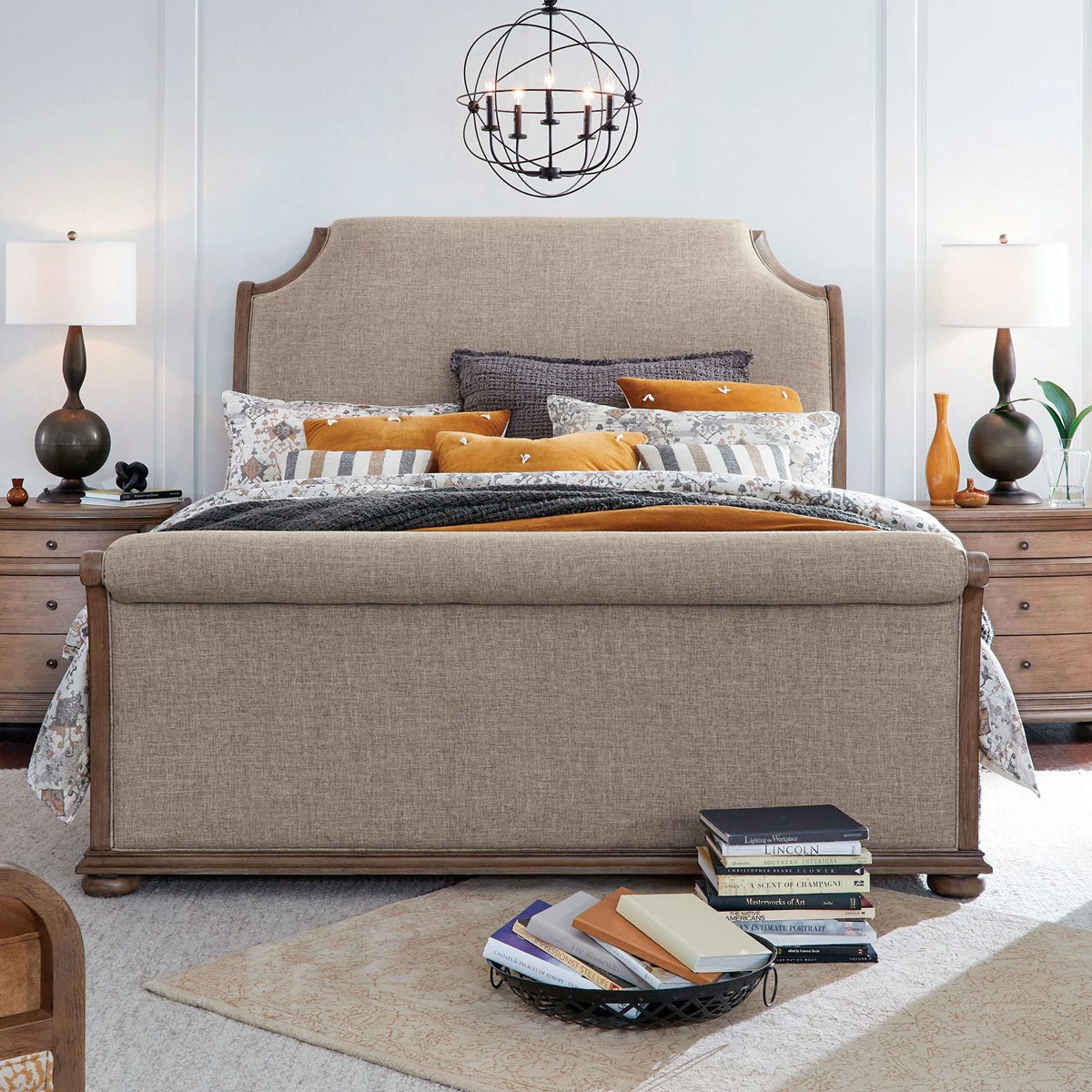 Picture of CAMDEN HEIGHTS UPHOLSTERED BED