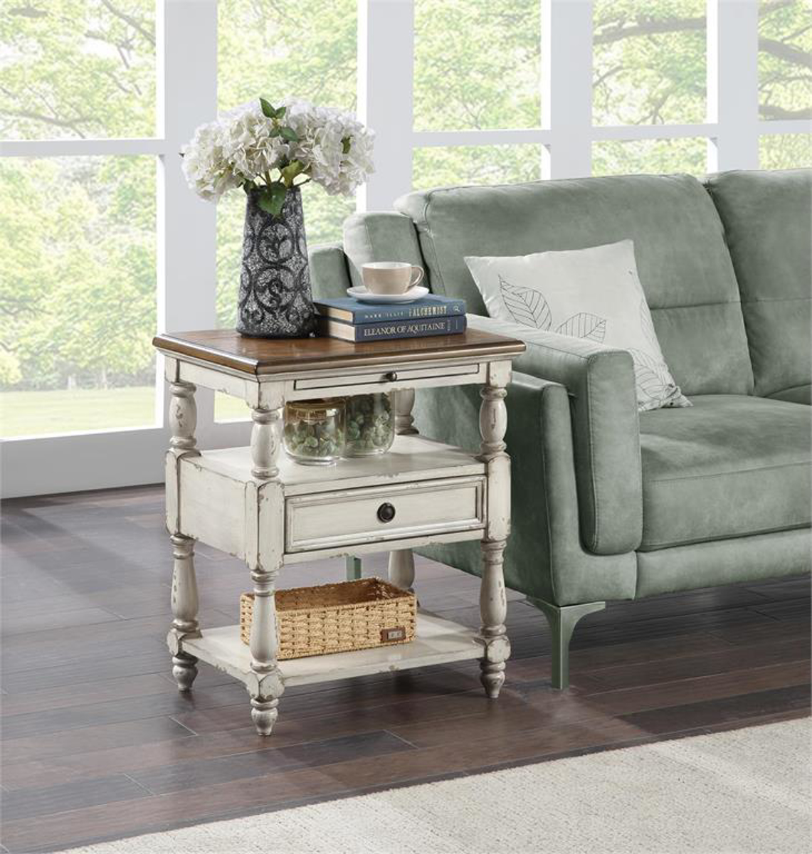 Picture of 1 DRAWER SIDE TABLE