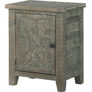 Picture of PIERSTON GRAY ACCENT CABINET
