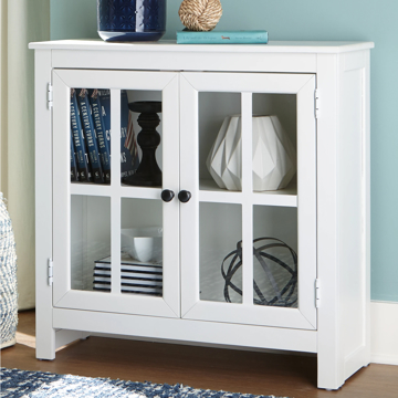 Picture of NALINWOOD WHITE ACCENT CABINET